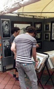 Art Star Booth Candid